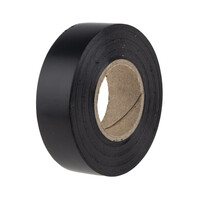 RS PRO Black PVC Electrical Tape, 19mm x 20m (1347336)