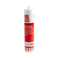 RS PRO White Silicone Sealant Paste 310 ml Cartridge (494102)