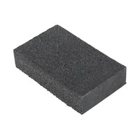 RS PRO P120 Fine Sanding Block, 80mm x 50mm (1235766)